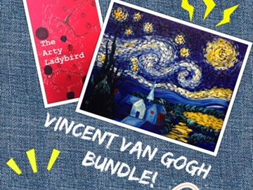 Vincent Van Gogh Question sheet and extended drawing activities