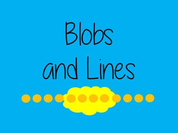 Back to School Icebreakers Game - Blobs and Lines