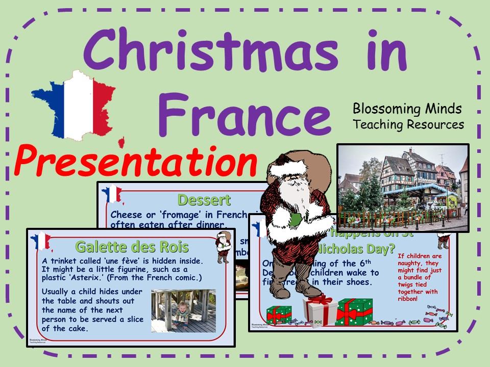 Christmas in France presentation