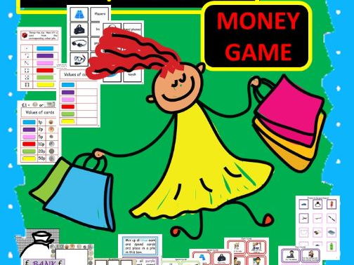 Money Games - Earn and Buy for EAL /ESL / ELL and Native English speakers
