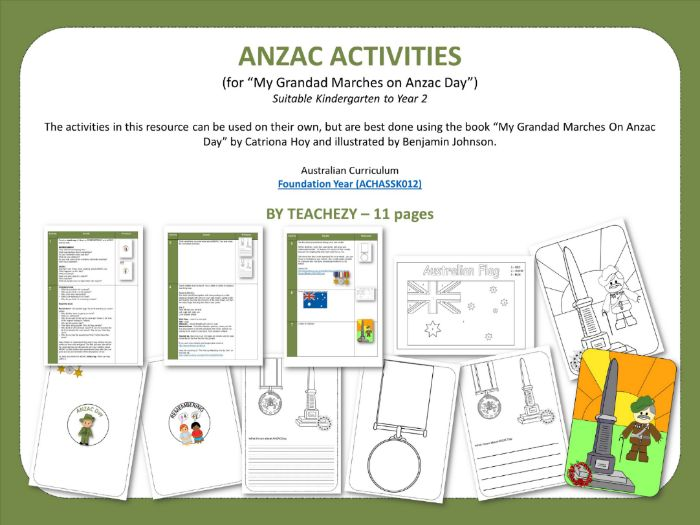 ANZAC ACTIVITIES