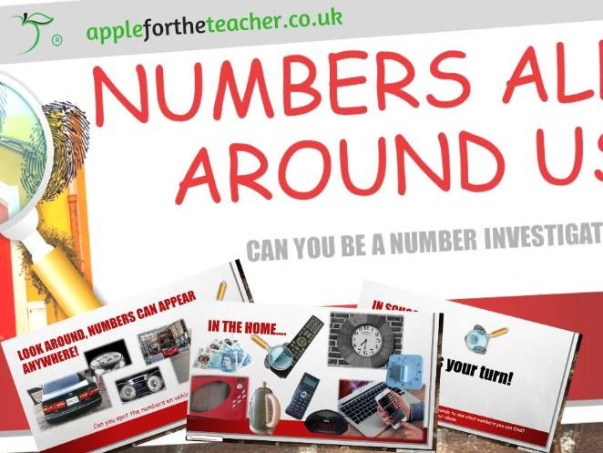 Numbers all around us EYFS SEN KS1 PowerPoint Presentation