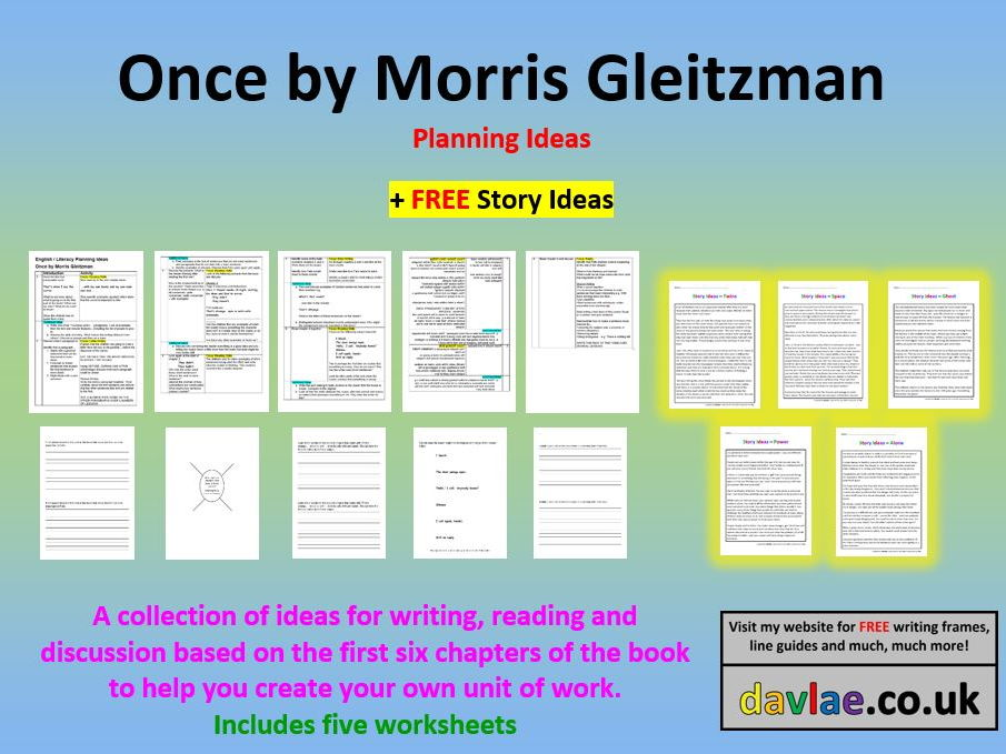Once by Morris Gleitzman - Planning Ideas (+ FREE STORY IDEAS)