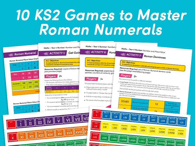 10 Games to Master Roman Numerals