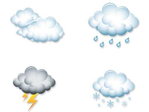 EYFS classroom weather charts.