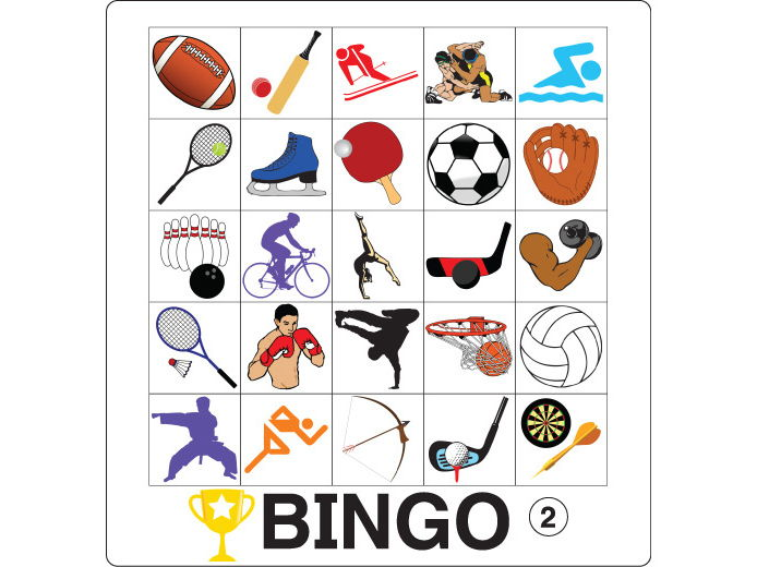 ESL Games - Sports Bingo