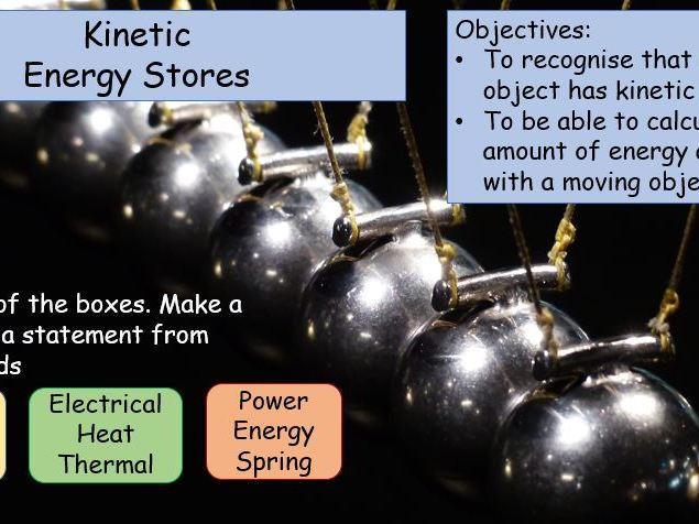 AQA GCSE 9-1  P1.4 and P1.5  Lessons 3 and 4 of Energy topic Kinetic and Gravitational potential