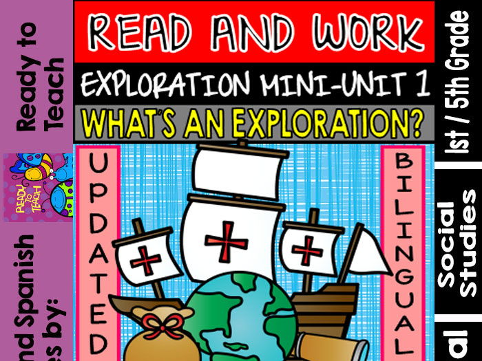 Exploration Mini-Unit 1 - What's an Exploration? - Read and Work - Bilingual