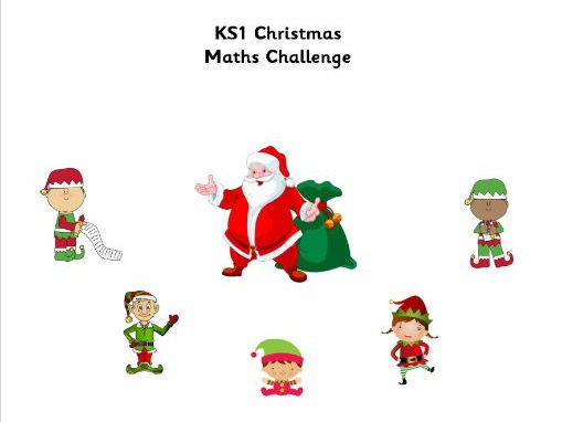 ks1 christmas maths booklet by jessplex teaching resources. Black Bedroom Furniture Sets. Home Design Ideas