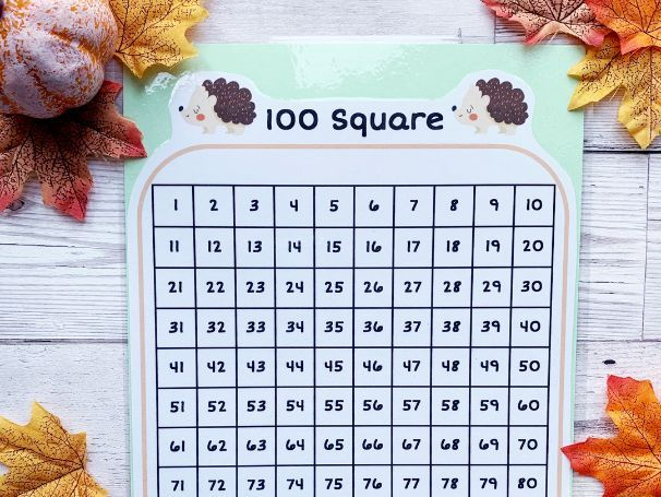 Autumn 100 Square