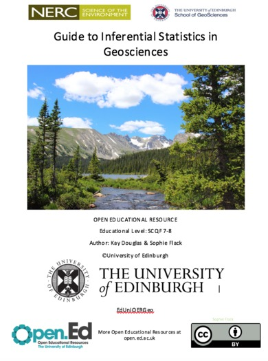 Guide to Inferential Statistics in Geosciences