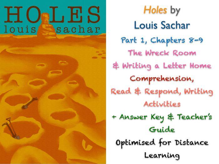FREE Holes (Louis Sachar) Ch. 8-9 - Dear Mom... - NO PREP ACTIVITIES + ANSWERS
