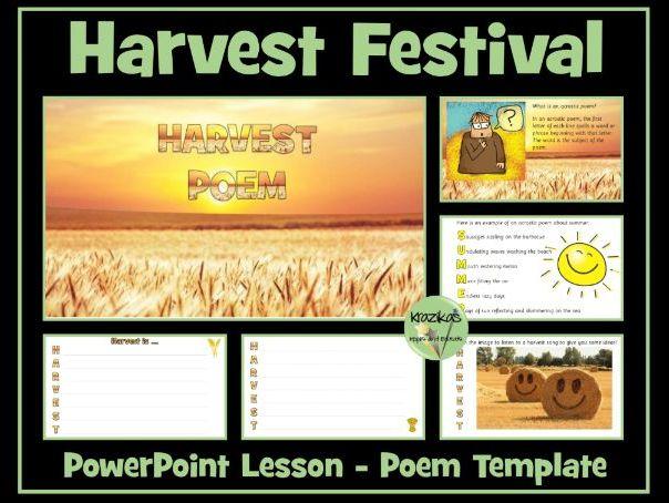 Harvest Festival Poem