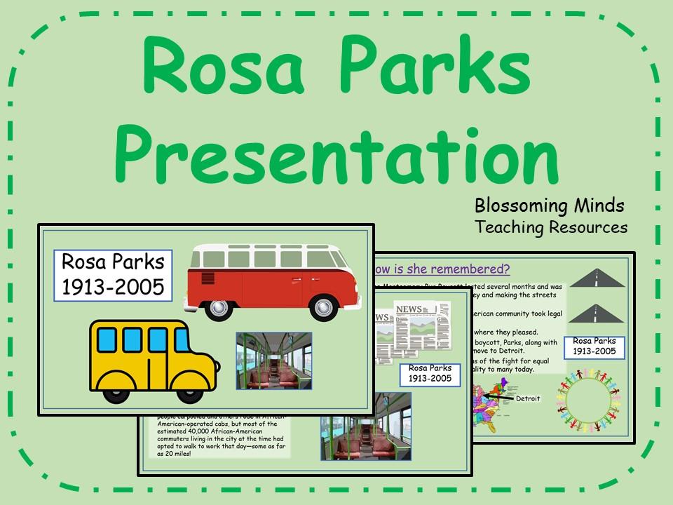 Rosa Parks Presentation - Black History Month