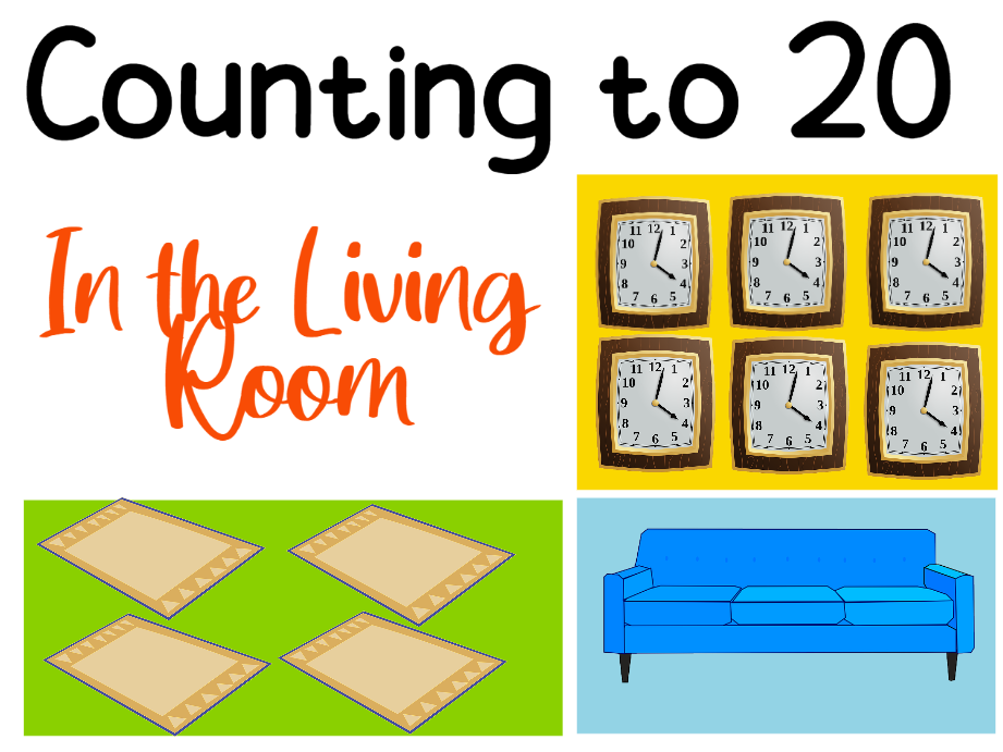 Counting to 20 in the Living Room