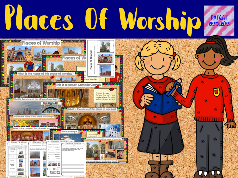 Places Of Worship - No prep lesson
