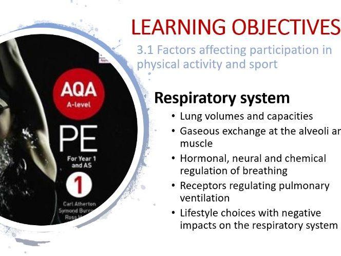 A Level PE: Respiratory System PPT