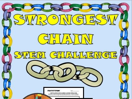 STEM CHALLENGE BUILD THE STRONGEST CHAIN