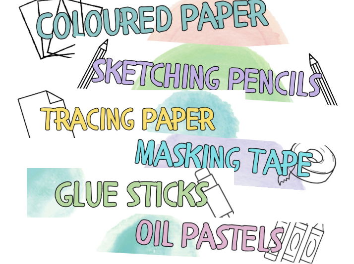 Art Resource Tray Labels