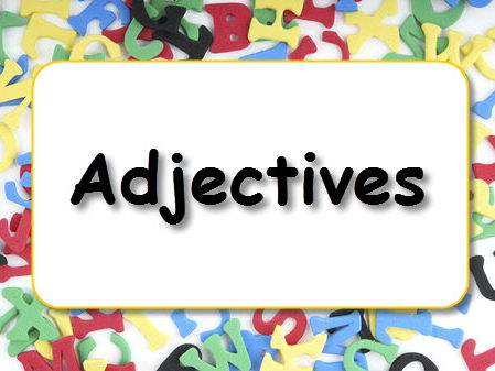 2 Adjectives Activities