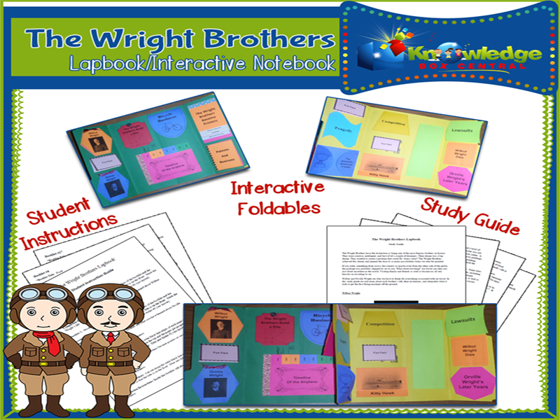 Wright Brothers Lapbook
