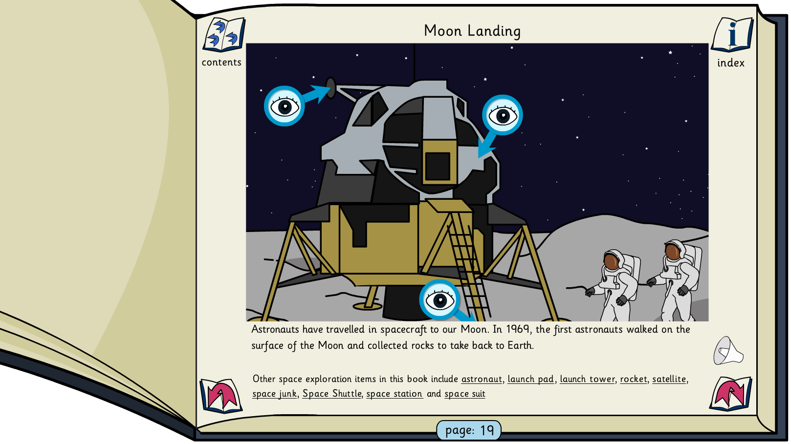 Planets and Space Interactive Information Book - KS1/KS2 Literacy