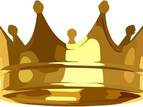 Crown Colouring Sheet