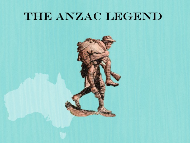 anzac legend The anzac legend is central to the australian identity, drawing on elements of the bush myth and white australia the legend can appear monolithic and fixed, but this.