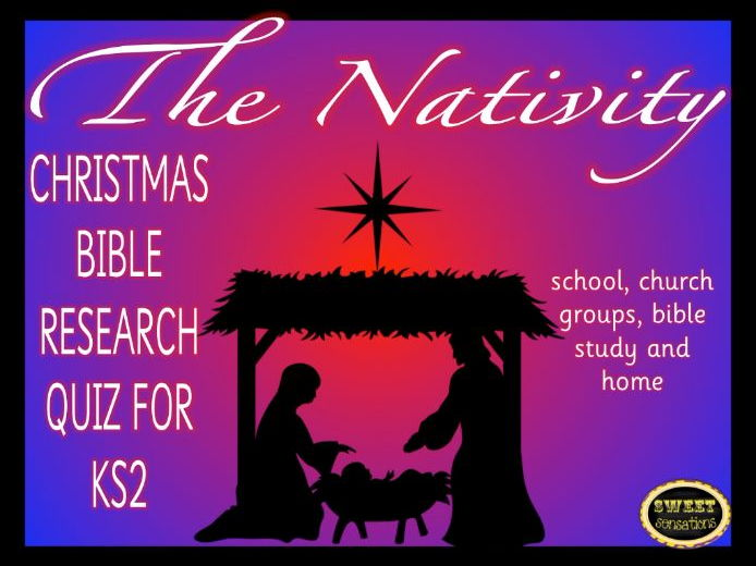 Christmas Nativity Quiz for Key Stage 2