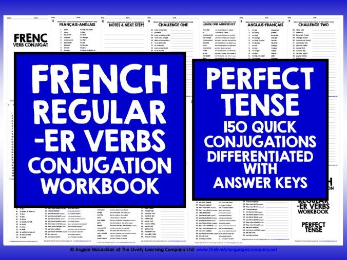 FRENCH PERFECT TENSE -ER VERBS