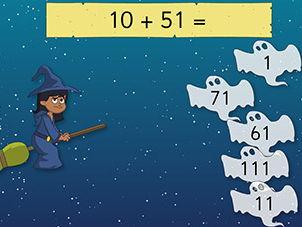 KS2 NUMBER - Halloween Mental Maths