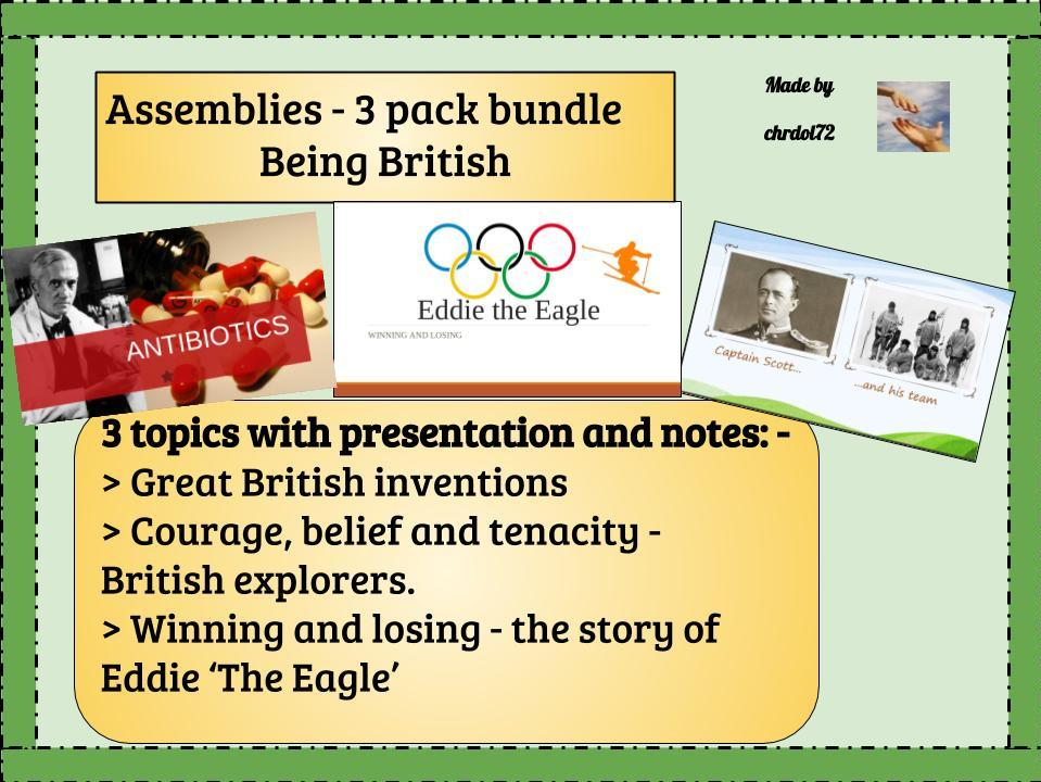 Assembly bundle - Being British