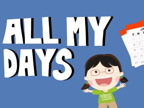 Music video for preschool children - 'All My Days'