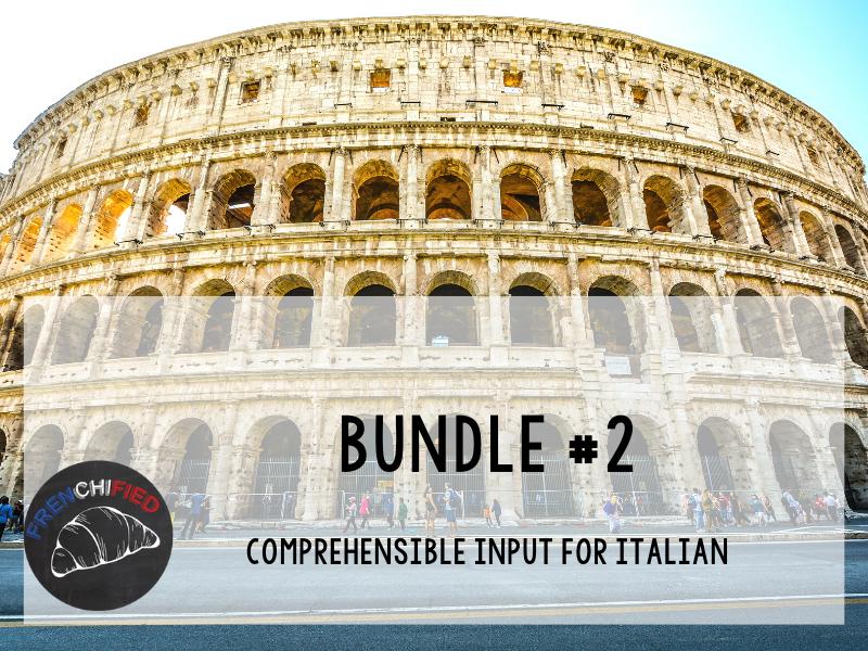 Comprehensible Input Videos for Italian - Bundle #2