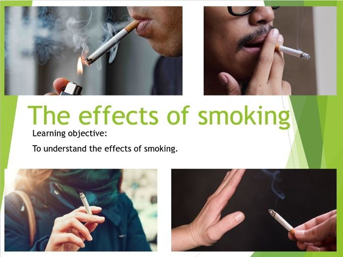 PSHE - The effects of smoking