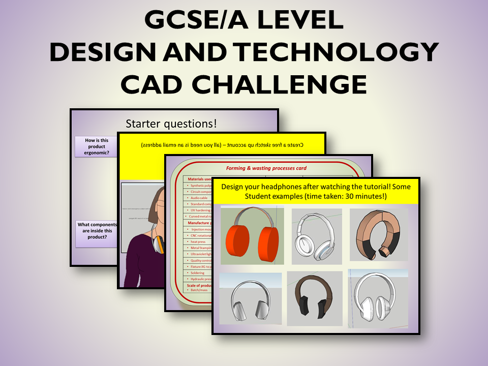 GCSE/A Level CAD  Headphone Challenge