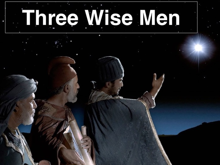 Three Wise Men - REALLY catchy Christmas song in EASY parts!