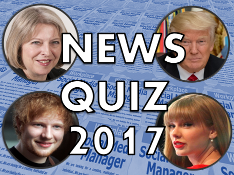 News Quiz 2017 – KS1, Year 1, Year 2 with Scoreboards, New Class, Assembly