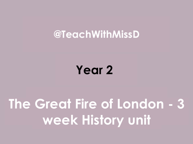Great Fire of London planning - Year 2