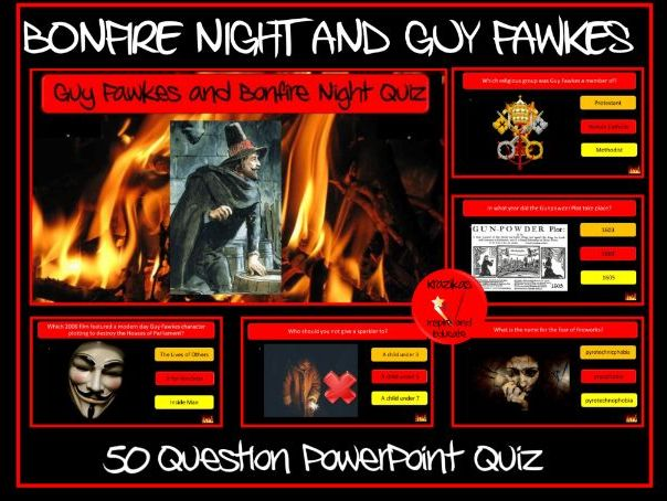 Bonfire Night Quiz
