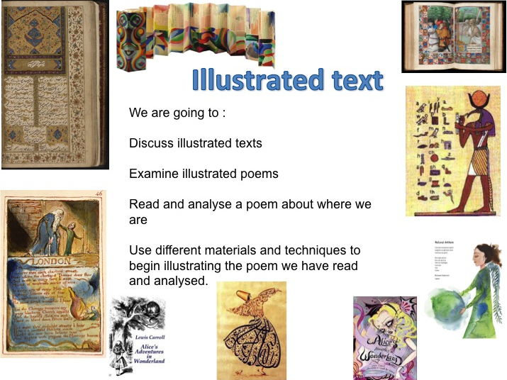 Illustrated text