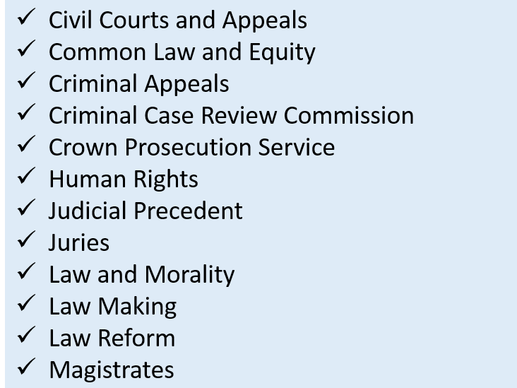A Level Law Revision