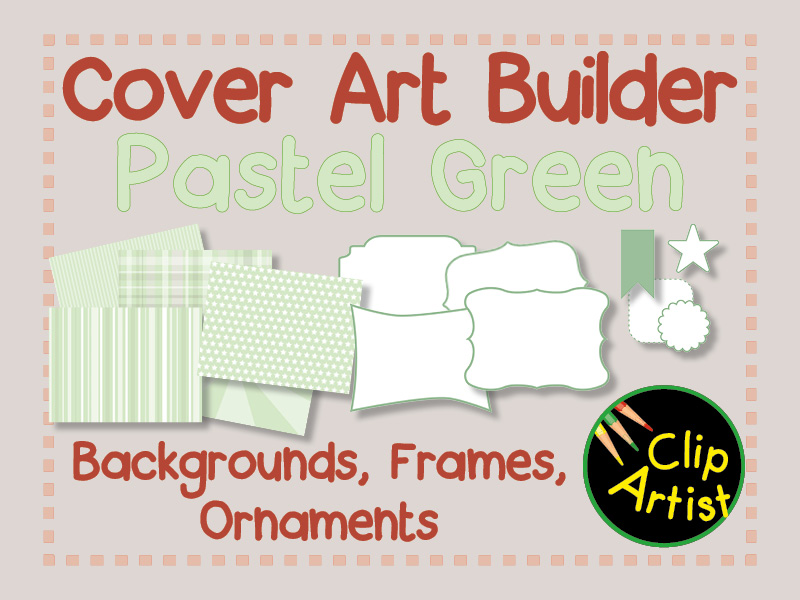 Cover Builder for Authors and Presentations - Pastel Green