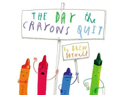The Day the Crayons Quit Unit of Work