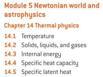 OCR A level Physics: Thermal Physics