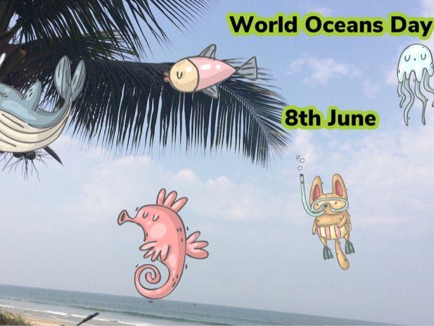 World Oceans Day Worksheets.