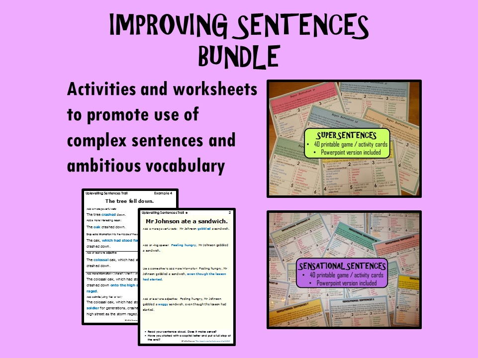 Dyslexia worksheets ks3