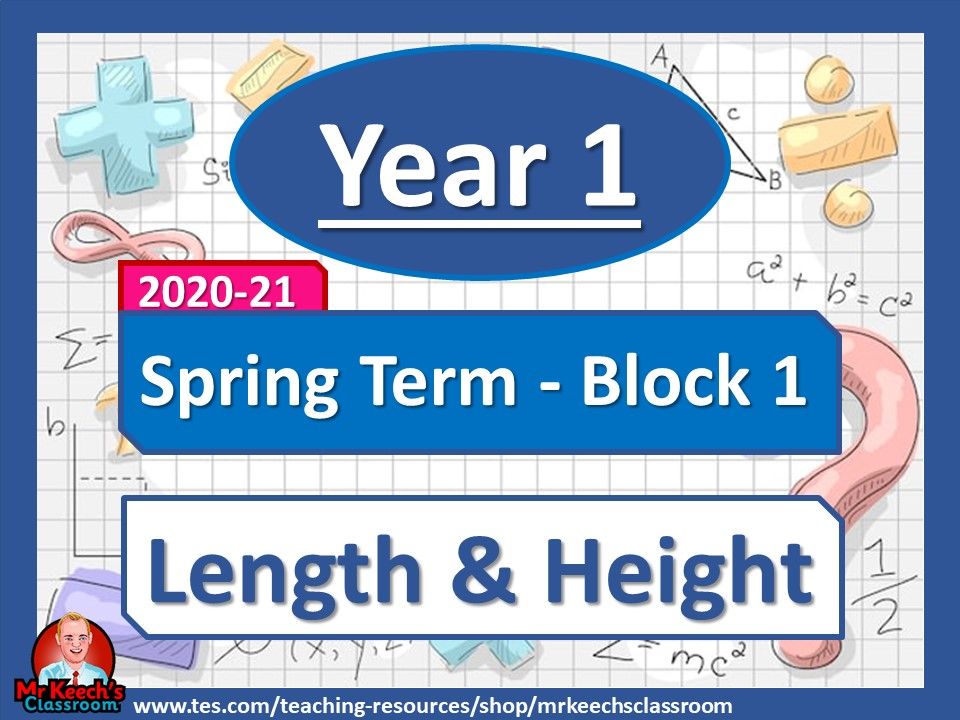 Year 1 - Length and Height- Spring Block 3 - White Rose Maths