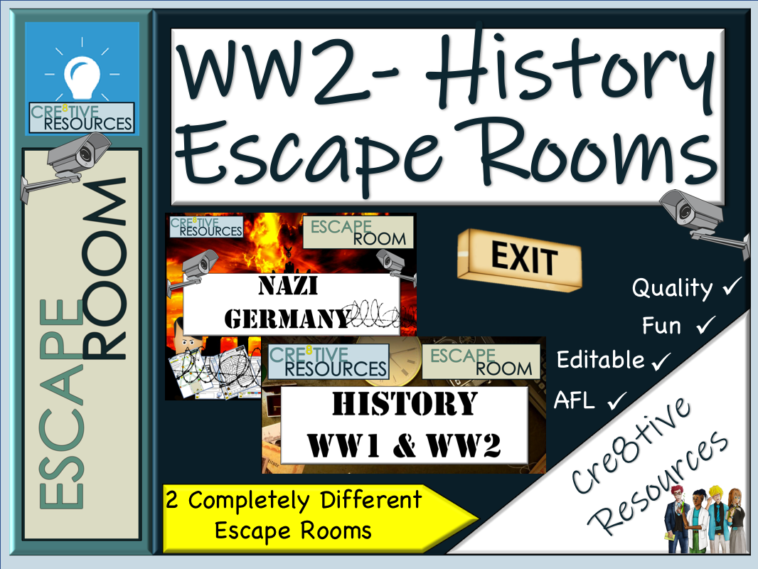 WW2 History Escape rooms