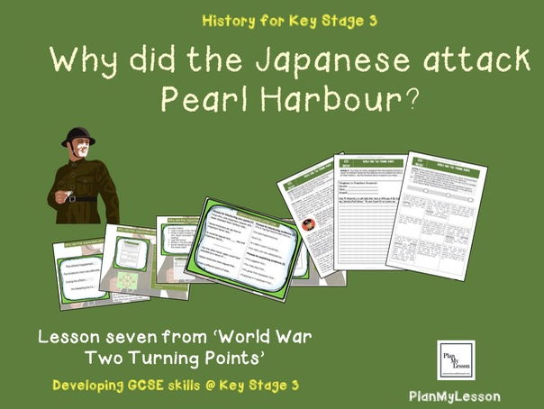 Why did the Japanese attack Pearl Harbour?